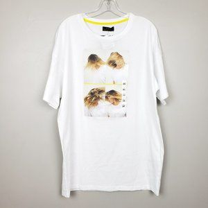 Zara Blond Women Photograph Graphic T-Shirt